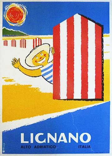 1961 Italian Travel Poster