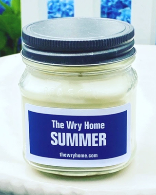 The Wry Home Summer Candle