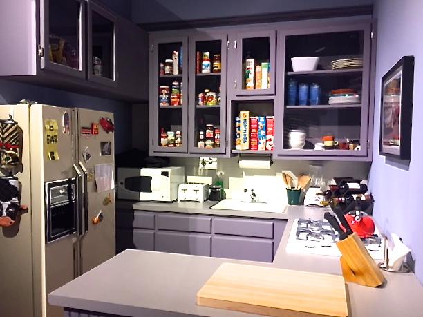 Seinfeld's kitchen