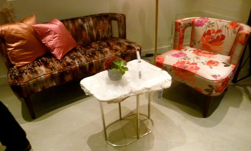 Pieces from Marks and Franz new furniture line
