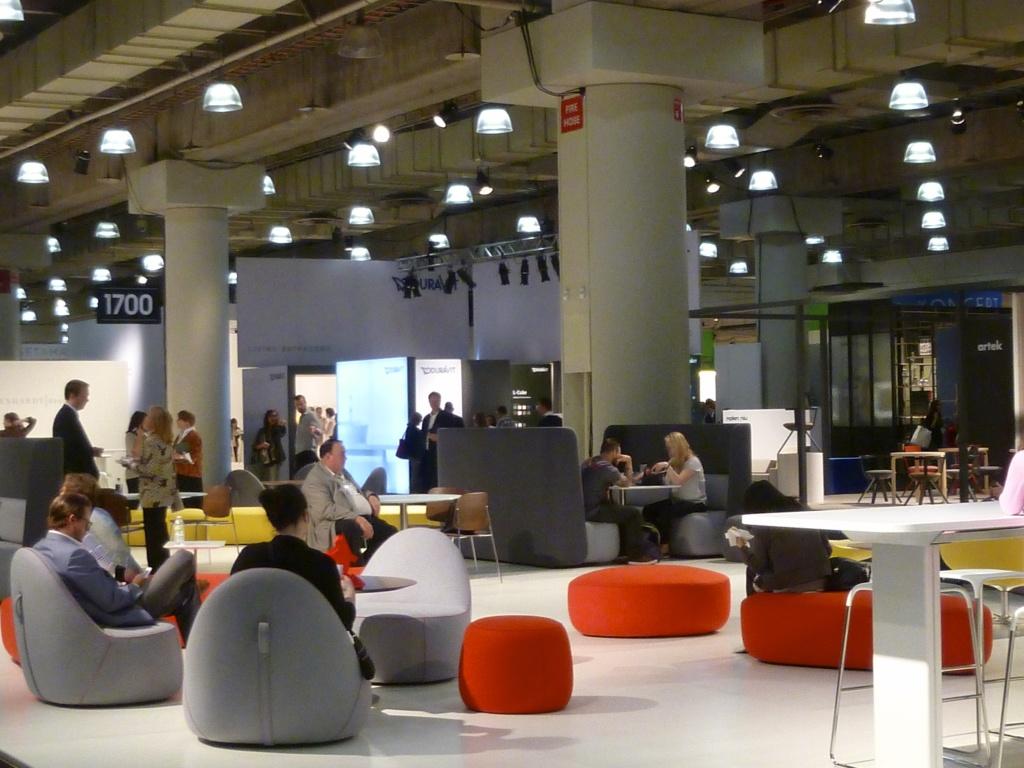 ICFF lounge