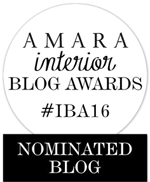 Amara Interior Blog Awards Nominated Blog 2016